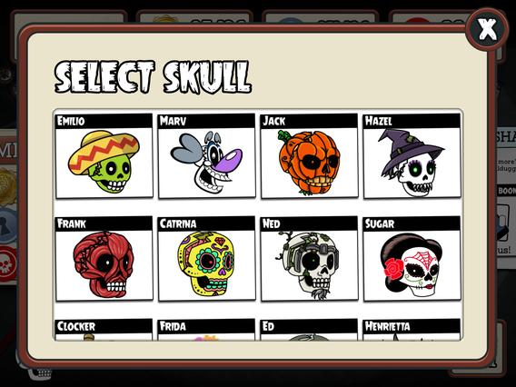 Skull Selection